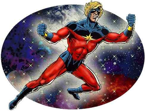 captain marvel garcon