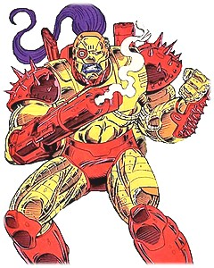 taserface marvel comics
