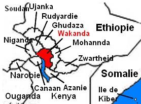 Carte Afrique Wakanda.Encyclopedie Wakanda Le Marvel World Com