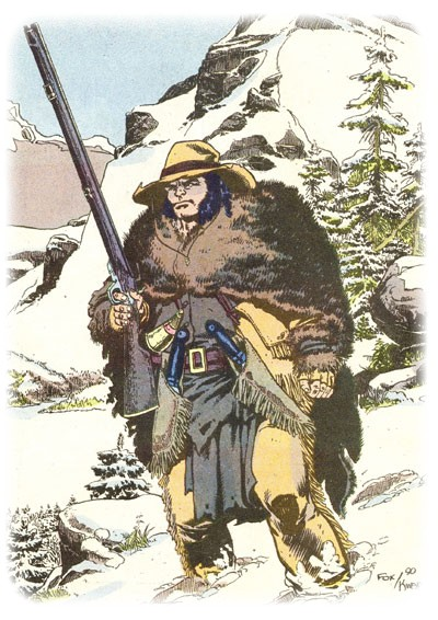 Logan en trappeur pour la Hudson Bay Company